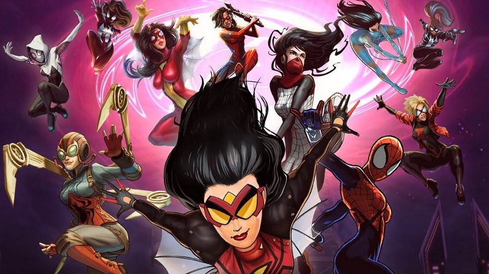 The Spider-Women of the Marvel Universe (Credit: Marvel)
