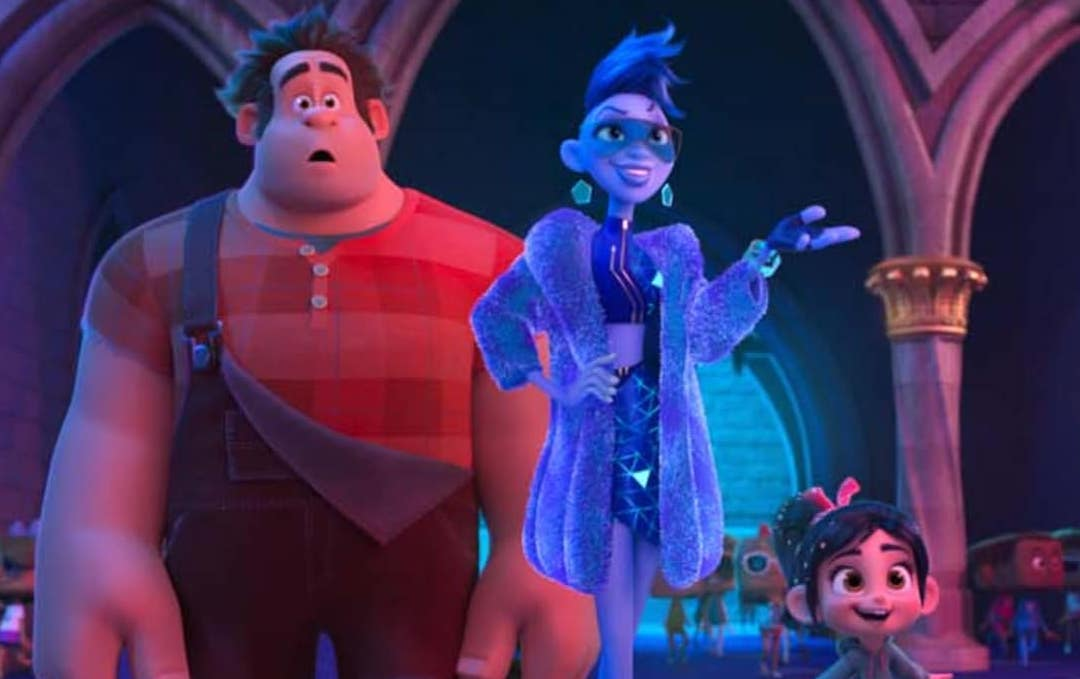 Ralph, Yesss, and Vanellope in 'Ralph Breaks the Internet'