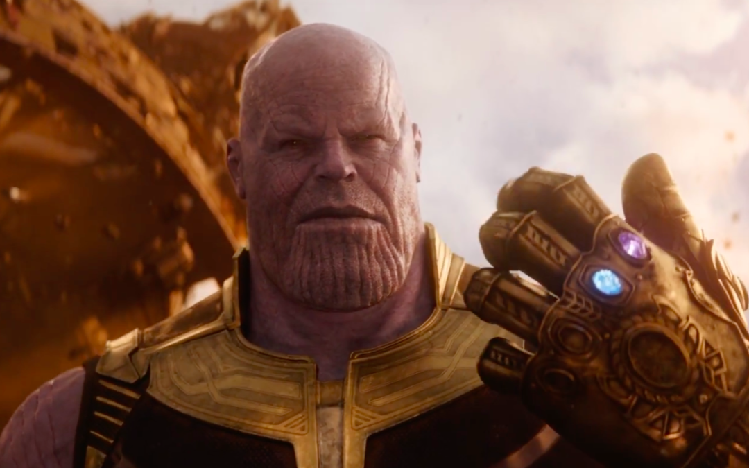 Thanos with the Infinity Gauntlet in 'Avengers: Infinity War'