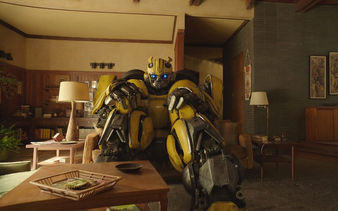 Bumblebee in his first solo movie