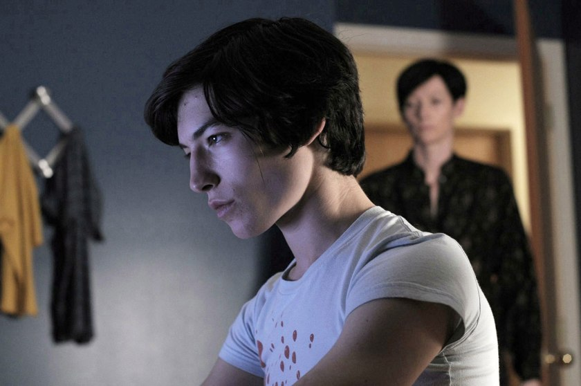 Ezra Miller in his unsettling debut (Credit: Code Red)