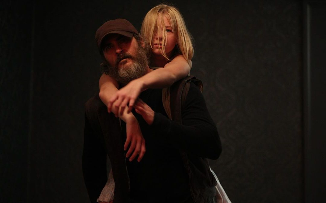 Joaquin Phoenix and Ekaterina Samsonov in Lynne Ramsay's 'You Were Never Really Here' (Credit: Amazon Studios)