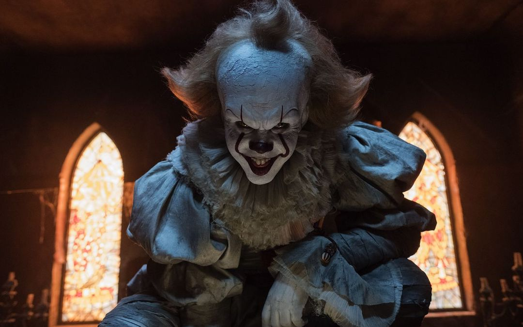 Bill Skarsgård as Pennywise in 'It' (Credit: Warner Bros.)