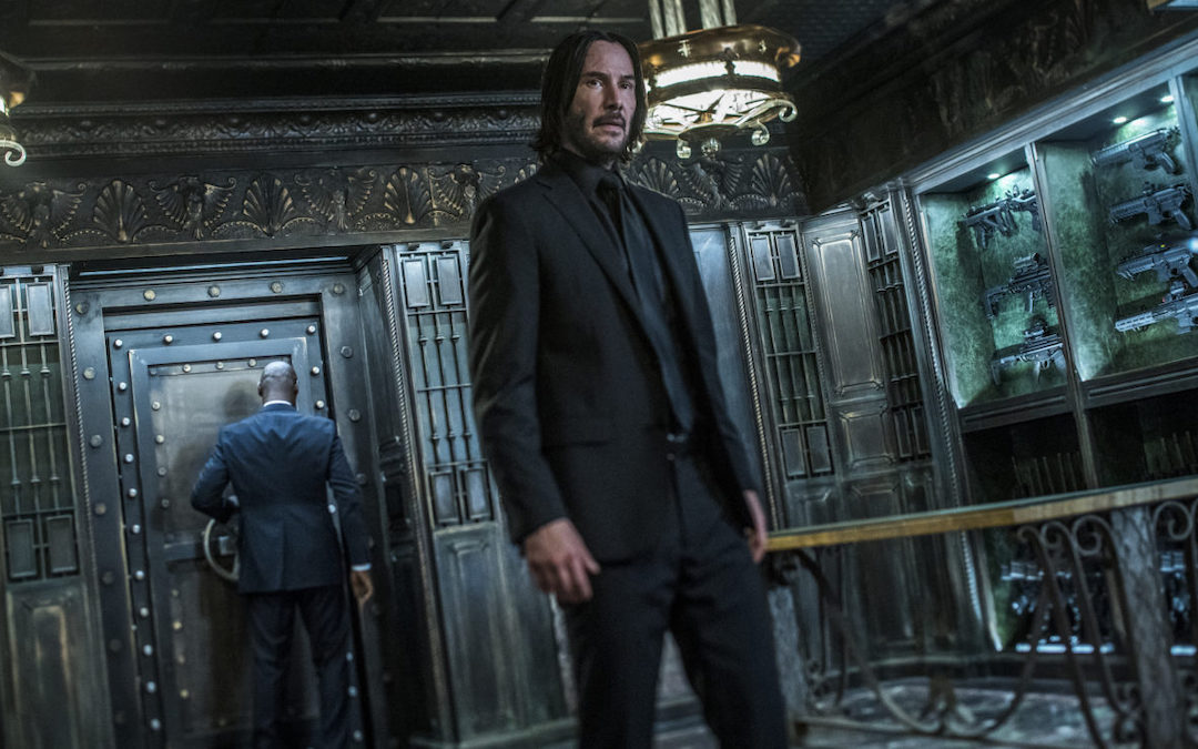 Keanu Reeves as John Wick in 'John Wick: Chapter 3 - Parabellum'