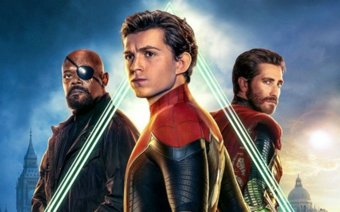 spider-man far from home spiderman